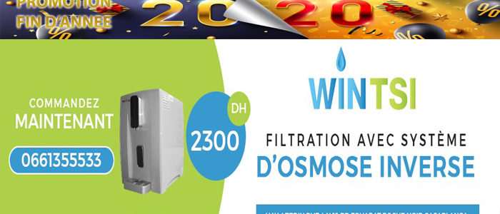 Fontaine de filtration XC08-07 PROMOTION 2020