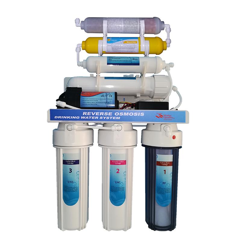Filtre à osmose inverse 7 étapes